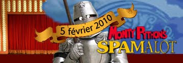 Attention, Spamalot débarque à Paris!