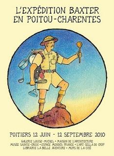 Glen Baxter en expédition à Poitiers