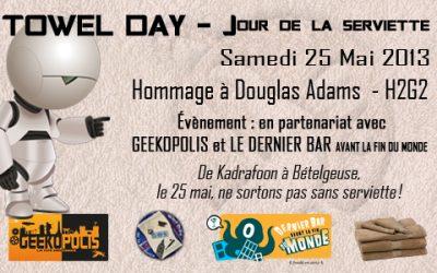 Jour de la Serviette 2013 : le programme !