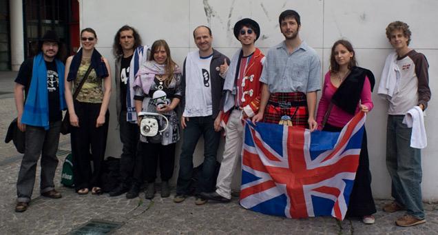 Le GOS lors de la première réunion fondatrice en 2008